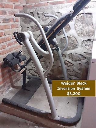 Weider Black, Inversion System