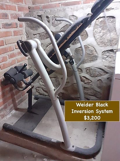 Weider Black, Inversion System
