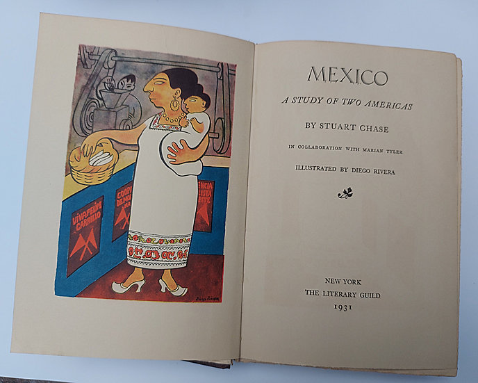 Stuart-Chase-Mexico-Illustrated-by-Diego-Rivera