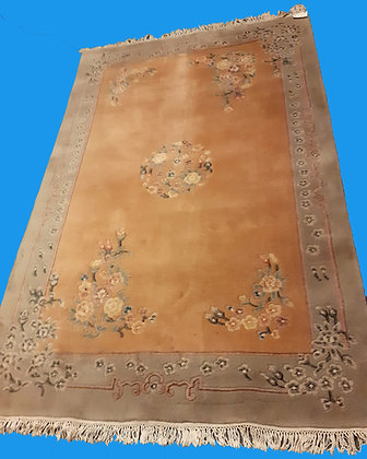 Wool Rug from India, hand woven