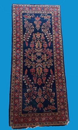 antique-Blue-Sarouk-long-rug-1930s-persian-rug-iran