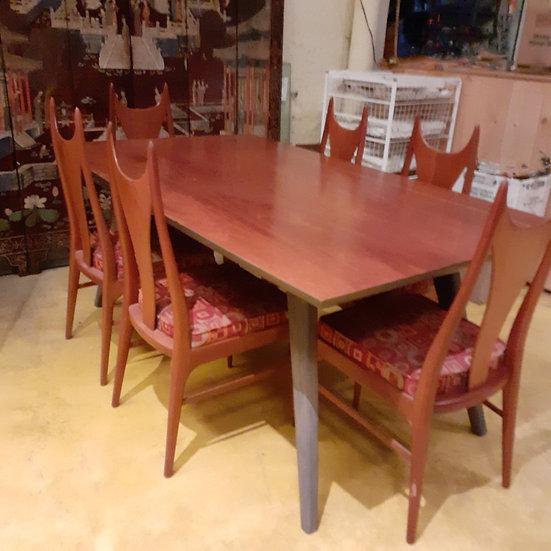 Mid Century Dining Room Set Scandinavian