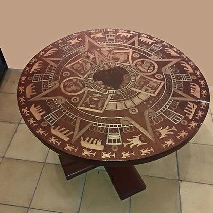 Mexican Aztec Calendar Table