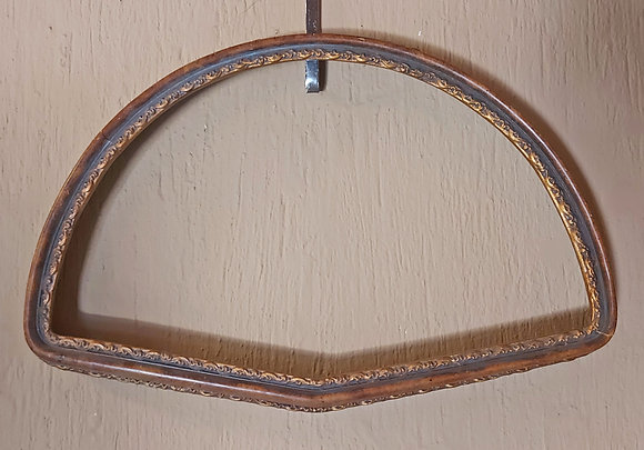 """Antique Frame for Hand Fan, 21"""" by 13 1/2"""""""