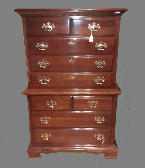 Lexington Tall Boy Chest of Drawers. Ex. Condition