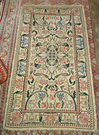"""Cuenca Rug,  66"""" x 43"""" , Spanish Hand Knotted,"""