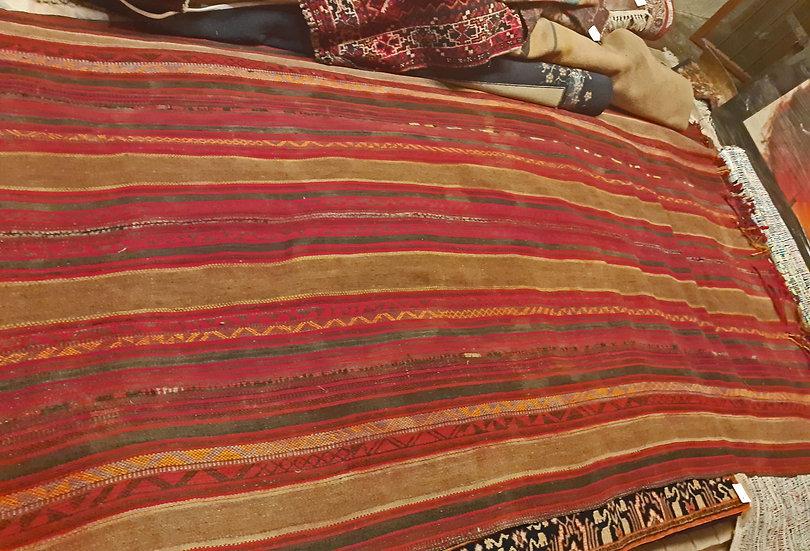 """Bedouin Tent Floor, Part Camels Hair, 10' 11""""  x 5' 11"""""""