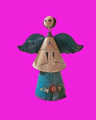 "Beautiful Tlaquepaque Original Angel, 36"" tall, Sermel Design"