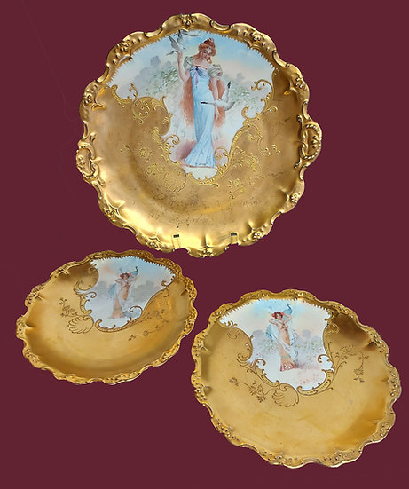 limoges-cabinet-plate-gilt-hand-painted