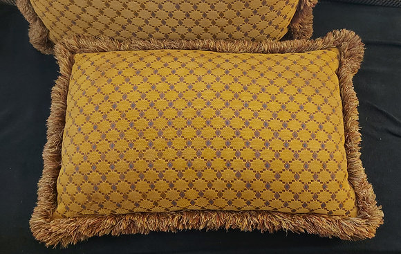 """High Quality Fabric,  Feather/Down Pillows,  26"""" by 14"""""""