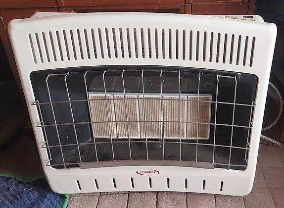 Lenomex Gas Heater, Like New, Ceramic Burners