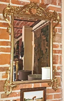 Antique Gilt French Mirror