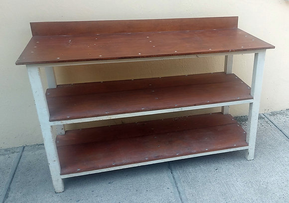 """Work Table: 55"""" wide, 23"""" deep and 33"""" tall, Well Constructed, Strong"""