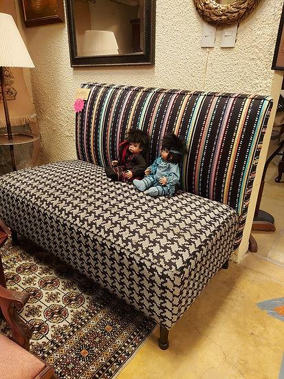 Avant Garde Upholstered Bench, Settee