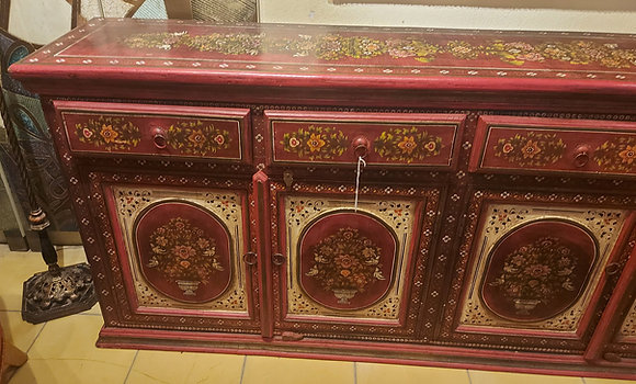 Hand-Painted-Storage-Cabinet-from-India