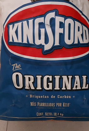10 kg. Bag of Kingsford Charcoal. Unopened.
