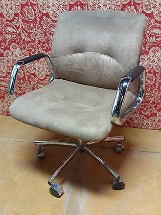 Vintage SteelCase Adjustable Swivel,  Office Chair, 1980's