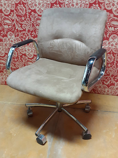 Vintage SteelCase Adjustable Swivel,  Office Chair, 1980's