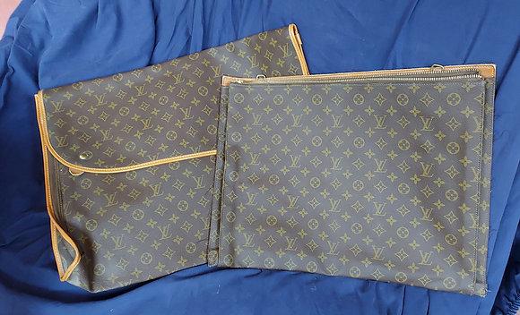 Vintage Louis Vuitton Portafolio, 2 pc.  Original LV Item