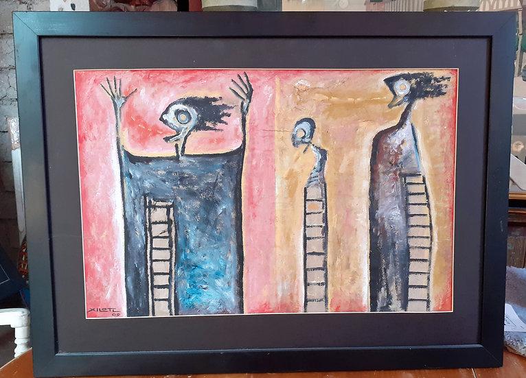 Isidro Xilotl Original Artworks, #2 of 3