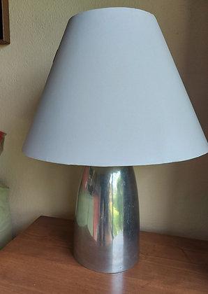 """Aluminum Table Lamp, 24"""" tall"""