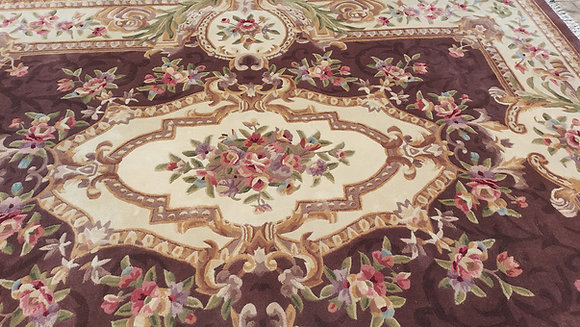 Regal Estate Design by Royal Estate Hand Made Rug from China