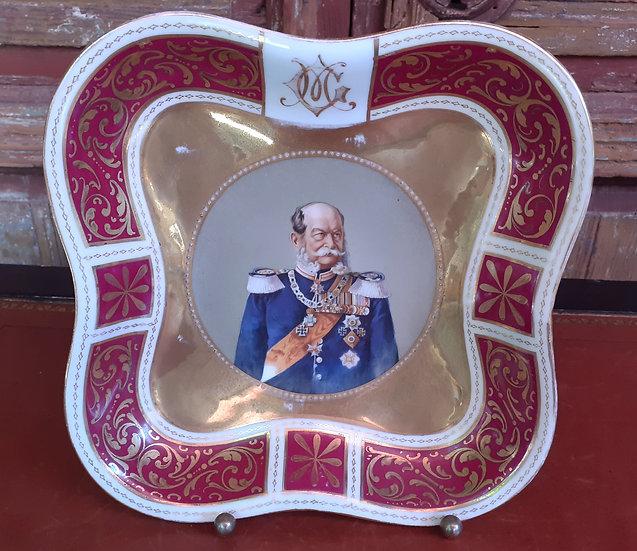 Memorial Wilhelm Friedrich Plate