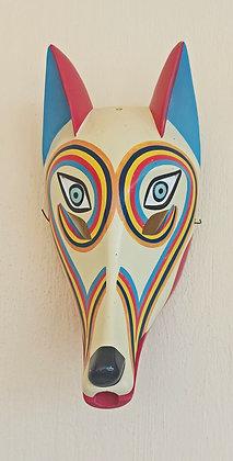 Gorgonio Candelario Castro,  Coyote Mask, Comala, Colima