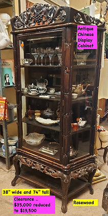 Rosewood-Display-Cabinet-Curio-Antique