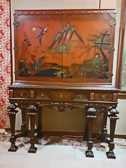Chinoisierie-bar-1920's-lacquer