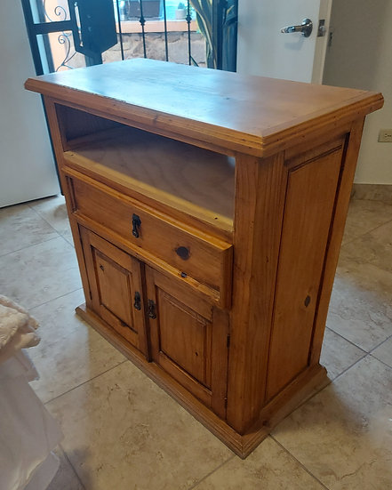 Mexican Rustic TV Cabinet or Console