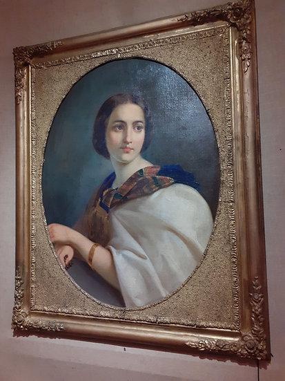 Portrait of Maura Ogazon, Guadalajara 1860's