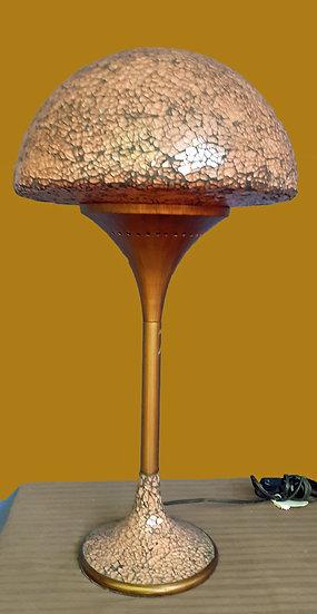 Lamprada de Mesa Contemporanea de champiñon en Vidrio