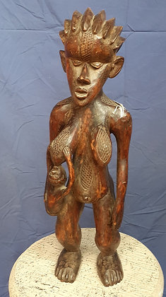 Dan-Bassa,  Maternity Figure, Ivory Coast and Liberia