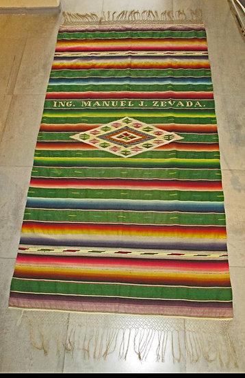Mexican Sarape,  Ing. Manuel J. Zevada