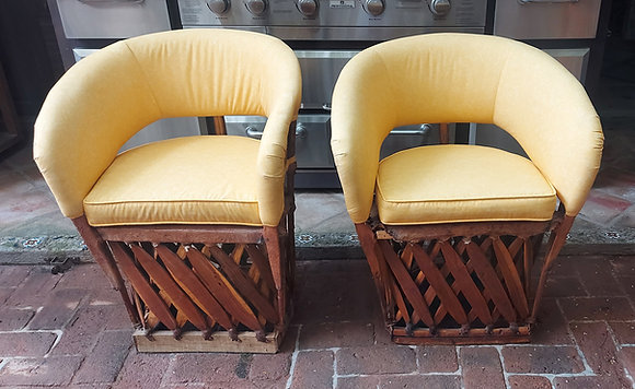 4-Upholstered Equipal Chairs, 6 available, Freshly Shampooed