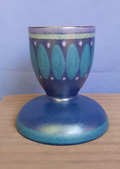 Mid Century Pottery Candle Holder