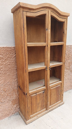 """Rustic Cupboard, China Cabinet, no glass, 74"""" tall, 35"""" wide, 12"""" deep"""