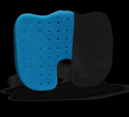 Ergonomische Sitzkissen mit perforiertem Memory Foam