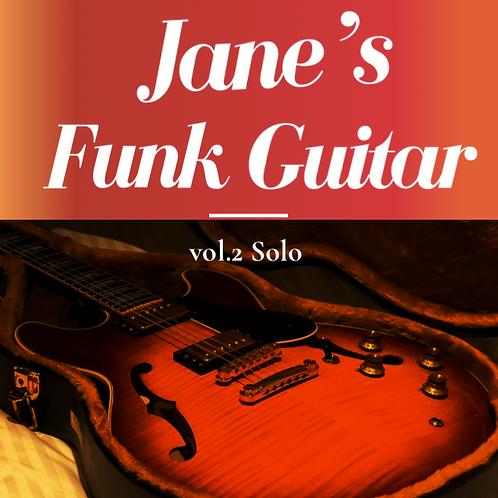 [Jane's Funk Guitar vol.2 Solo] (PDF File + Audio Track)