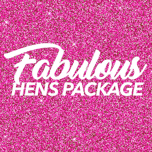 Amy Curtis 'Fabulous Hens Party Package'