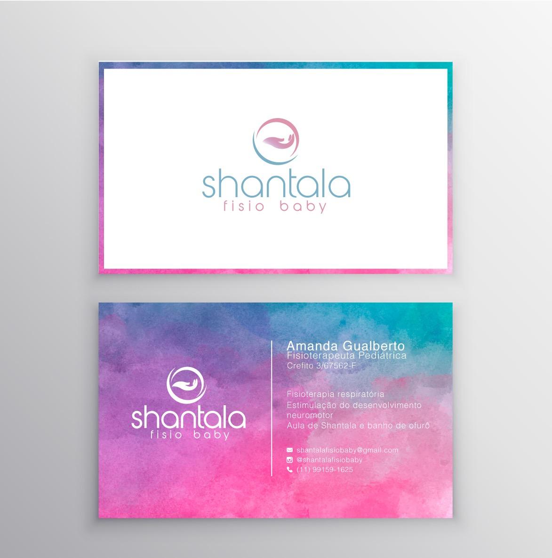 Cartão Shantala Fisio Baby