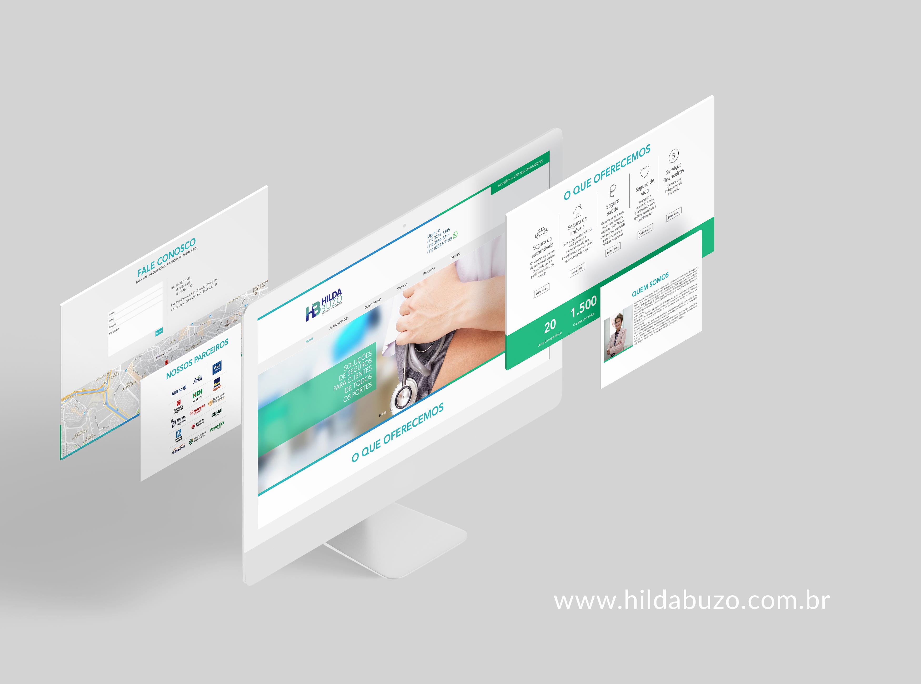 Site Hila Buzo Corretora