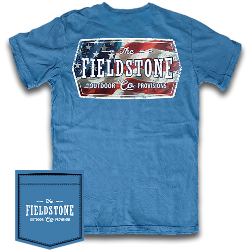 Fieldstone Red, White & Blue
