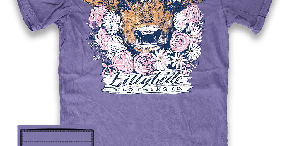 Lillybelle Flower Cow