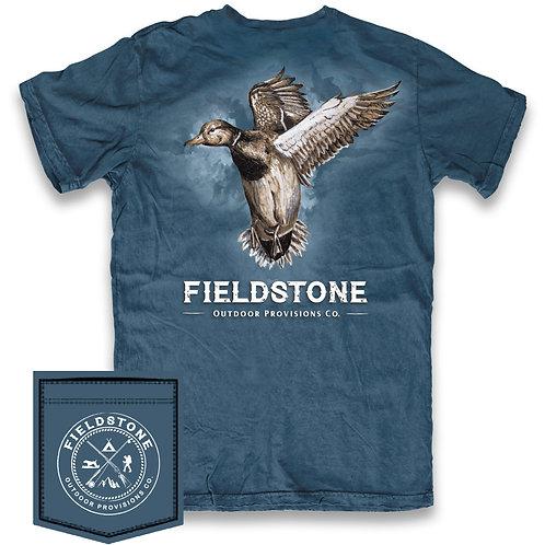 Fieldstone Ducks in Flight