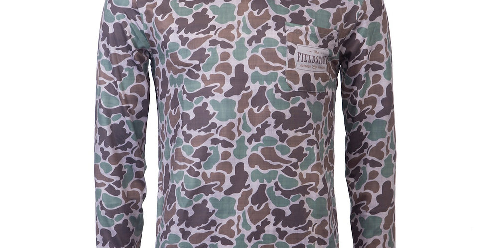 Youth Dry-fit Camo Hoodie