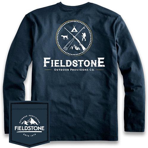 Fieldstone Outdoors Logo Longsleeve