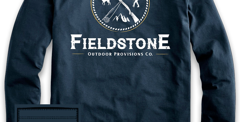 Fieldstone Outdoors Logo Longsleeve