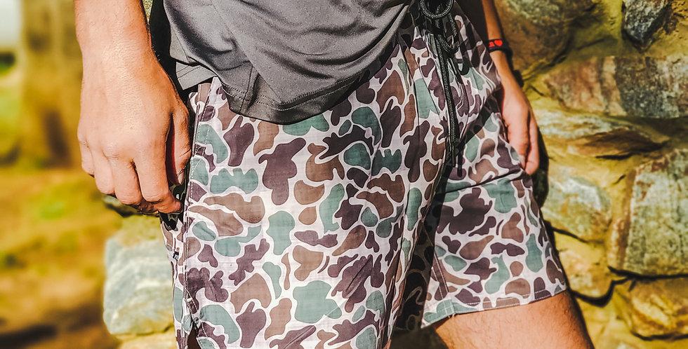 """Camo Active Shorts 5.5"""""""